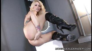 Monique Alexander masturbation solo scene