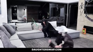 Halloween Star Wars Porn Parody Dads And Daughters Sex Orgy 2018 HD 720p