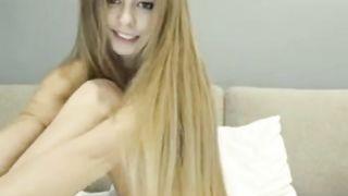 Blond Perfect Teen Camslut Video HD 720p
