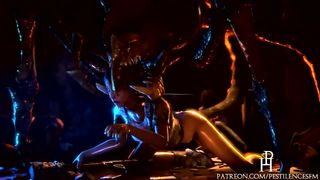 NEW SFM Sex Monsters And Girls From Games Long Video Compilation HD 720p