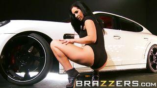 Brazzers Sex Near The Porsche Panamera - Jayden Jaymes, Keiran Lee - Hd 720p