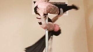 Sexy Batwoman Pole Dance
