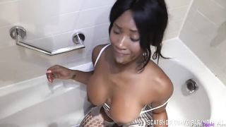 Golden Shower And Rough Anal Black Sex - Kiki Minaj - HD 720p