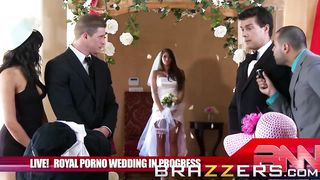 BRAZZERS - The Royal Porno Wedding Parody - Madelyn Marie, Ramon - HD 720p