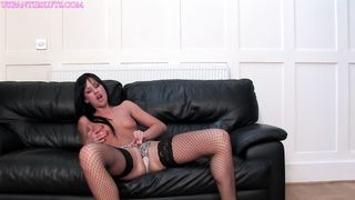 Lolly badcock UK panties slut solo