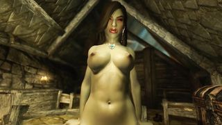 720p 3D Female Orc Milf Rough Fucked Human Male