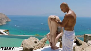 Romantic interracial anal sex video - Alecia Fox - HD 720p