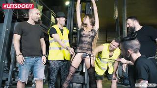 Gangbang Torture Latina Teen HD 720p