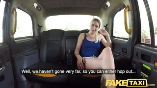Fake Taxi British blonde fucks in a cab 2018 HD 720p
