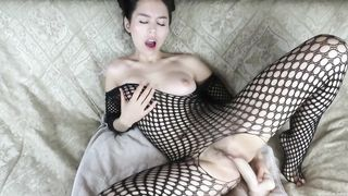 Latina anal and pussy toying solo video
