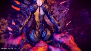 doomxwarframe Slayer Loop HD 720p