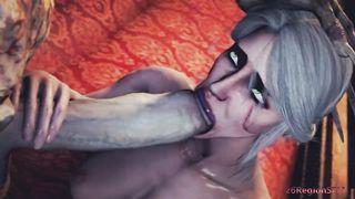 26RegionSFM The Witcher SFM Ciri And The Zombie Monster Sex HD 720p