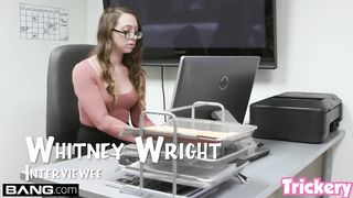 Fucks for get new work - Whitney Wright - HD 720p