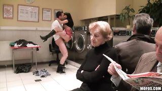 Craziest public sex 2018 - Ava Dakush - HD 720p