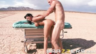 BRAZZERS - Bald Patient Dreaming About Hot Sex With Nurse In The Desert - Johnny Sins, Rachel Starr - HD 720p