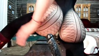 Big Ass Latina Solo With Giant Dildo - Little Lzzi - HD 720p