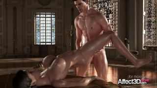 Affect3D - Princess Sex 3D Best Sex Scene - HD 720p