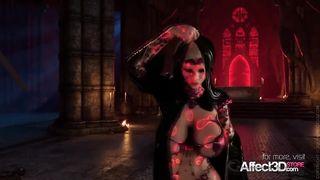 Affect3D - Hot 3D Big Tits Vampire Babe Hard Fucked - HD 720p