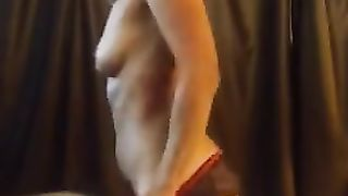 French amateur mom sexy stripping video