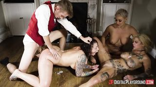 Save Our Souls 2018: Part 1 - Bonnie Rotten, Ivy Lebelle, Ryan Keely - 480p