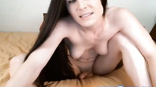 Busty and Sexy Shemale Naked in front of Webcam  porn 2