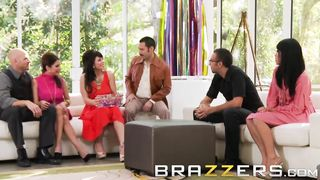 Brazzers - 70s Swingers Porn Parody Key Party - Brooklyn Lee, Johnny Sins, Keiran Lee - HD 720p