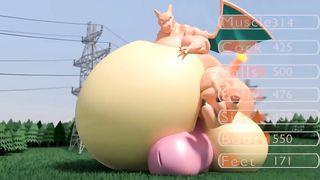 Charizard Pokémon Solo 3D Funny Cum HD 720p
