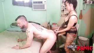 Guy Fucked In Anal By Strapon - Lily Lane, Mike Panic - HD 720p