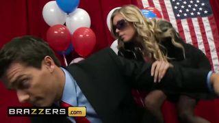 Brazzers - USA Senator Fucks His Sexy Secretary - Ramon, Samantha Saint - HD 720p
