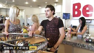 Brazzers - Porn Mom Boy, Sex In The Store - Emma Starr, Xander Corvus - HD 720p