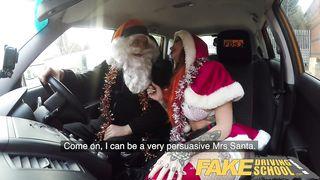 Fake Driving School - Fuck Christmas 2018 - Alexxa Vice, Ryan Ryder - HD 720p