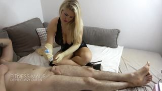 MyDirtyHobby - Elbow Latex Gloves - Fitness Maus - Hd 720p