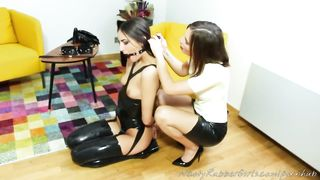Lesbian Mistress Slave Bondage - Jenifer Jane - HD 720p
