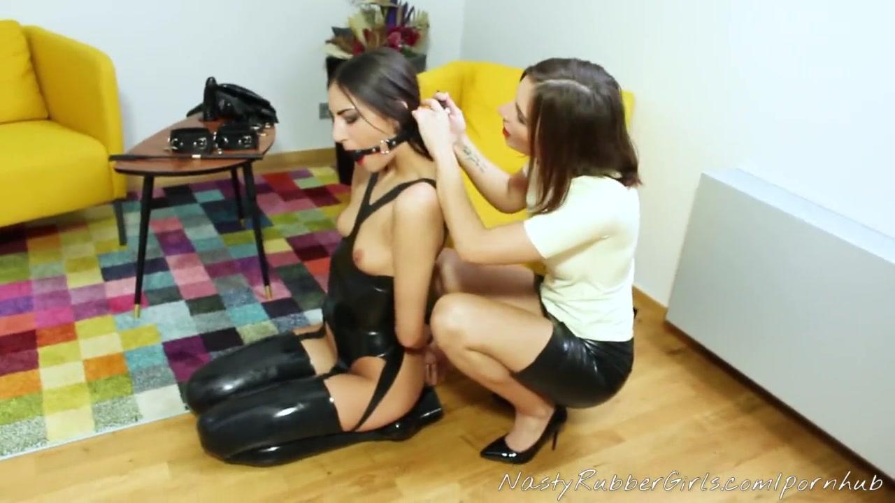 Lesbian Slave Ass Licking
