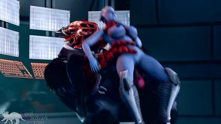 Mass Effect Monster Porn 3D SFM - BLUE STAR - Episode 3: The Deal -  Lord Aardvark - HD 720p