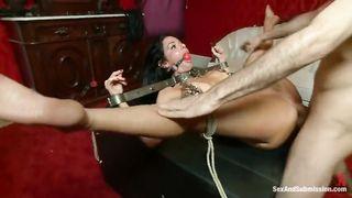 Bestiality Brutal BDSM ANAL Domination - James Deen, Veronica Avluv - 480p