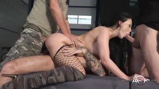 Army Gangbang XXX xVideos - Aletta Ocean - HD 720p
