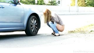 Public Pissing Compilation - Chrissy Fox, Lucia Denville - HD 720p