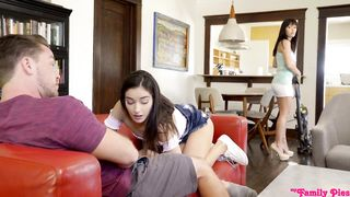 Hidden Bro Sis Sex When Step Mom Is Home Full Video - Emily Willis - HD 720p