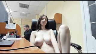 Russian Big Tits Teen Amateur Public Sex In Real Office On Live Sex Cam HD 720p