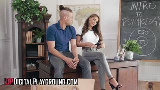 Digital Playground - Students Fucks On Teachers Desk - Xander Corvus, Madison Ivy - HD 720p