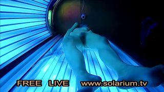 Babe In Solarium