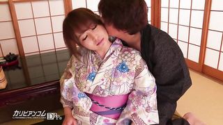 Japanese GF in kimono nice sexy video UNCENSORED - HD 720p