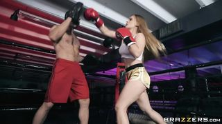 BRAZZERS - Boxing Babe - Sloan Harper, Charles Dera