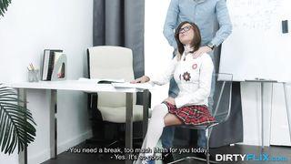 Dirty Flix - Nerdy Sex - Sandra Wellness - HD 720p