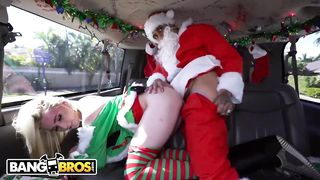 BANGBROS - Christmas Porn Santa And Elf Sex 2019 - Bruno Dickemz, Maddie Winters - HD 720p