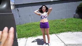 BANGBROS - Latina Teen BangBus Fucks - Jasmine Vega - HD 720p