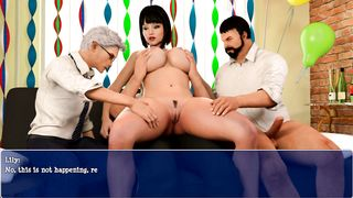 Lily of the Valley - Gangbang sex scene