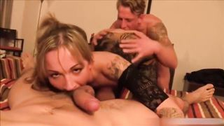 Share His Drunk Wife For Threesome DP REAL AMATEUR HD 720p
