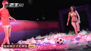 Brazzers - Danny D Play To Soapy Soccer Cockzilla Threesome Anal - Anissa Kate, Danny D, Franceska Jaimes - HD 720p
